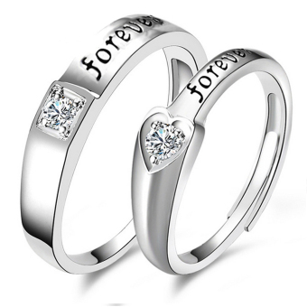 D&D LX-JZ8814 Adjustment Fashion Couple Ring