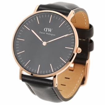 DANIEL WELLINGTON CLASSIC BLACK LADIE'S WATCH | 36MM SHEFFIELD - 2