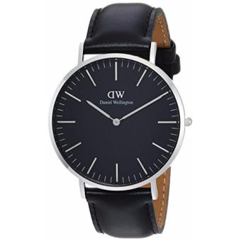 Daniel Wellington Classic Black Sheffield 40mm Silver Watch