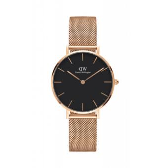 DANIEL WELLINGTON CLASSIC PETITE | 32MM MELROSE (BLACK FACE) Price Philippines