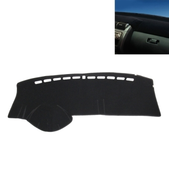 Dark Mat Car Dashboard Cover Mat Anti-reflective Center Console PadInterior Dark Shade Supplies Protective Pad Mat Cover DeliverProduct According To Your Car Type - intl