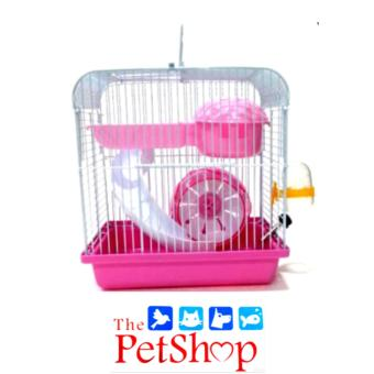 DaYang Hamster Cage L 23 x W 17 x H 24.5 x cm Pink #157