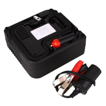 DC 12v Car Motorcycle Motor Compact Mini Tyre Air CompressorInflator Pump - intl Price Philippines