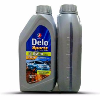 Delo(R) Sports Synthetic Blend SAE 10W-30 1Liter Motor Oil - 2