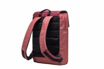 Delsey Calme 14-inch Laptop Backpack - Red - 5