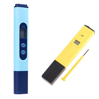Digital EC Conductivity Meter Tester Pen + PH Meter Hydroponics UK Price Philippines