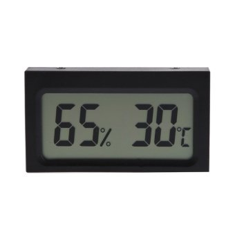 Digital LCD Indoor Humidity Temperature Meter Thermometer Hygrometer