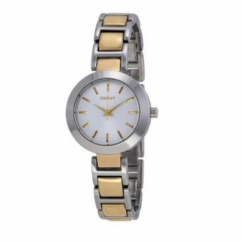 DKNY Stanhope Silver Dial Two-tone Stainless Steel Bracelet Ladies Watch NY8832