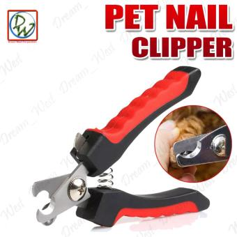 Dog Claw Cutter Nail Clipper (Red/Black)