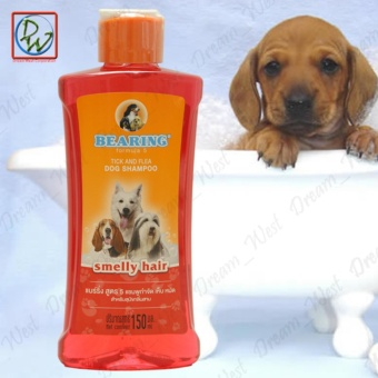 Dog Shampoo Bearing Tick and Flea 150ml - Smelly Hair