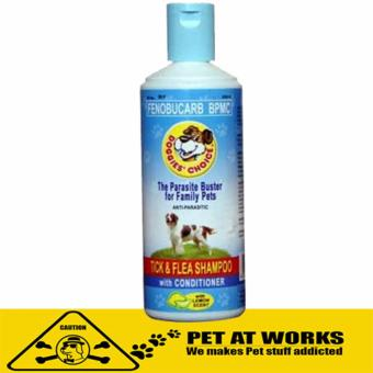 Doggies Choice Tick and Flea Shampoo with Conditioner (Small) LemonScent for Pets and Dog Shampoo Price Philippines