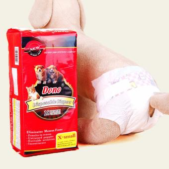 Dono Disposable Diapers X-Small 18's (Red) Price Philippines