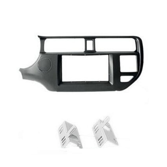 Double Din Radio Fascia for KIA Rio Dash Kit Frame - Intl Price Philippines