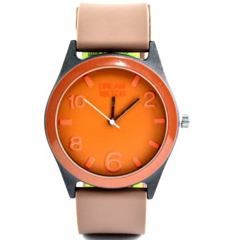 Dream Silicone Strap Watch for Women (040330 )