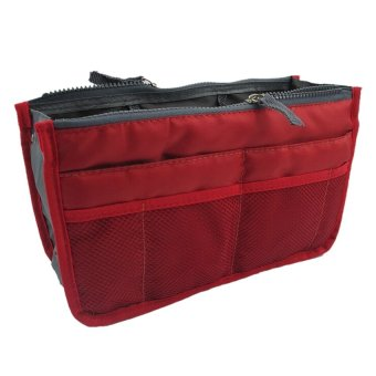Dual Bag in Bag Organizer (Red)