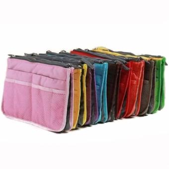 Dual Zipper Bag in Bag Organizer Set of 10 (color may vary) Price Philippines