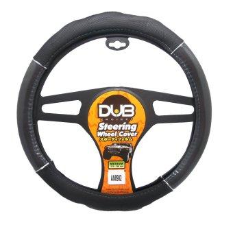 Dub AN8902 Steering Wheel Cover (Black/Gray)