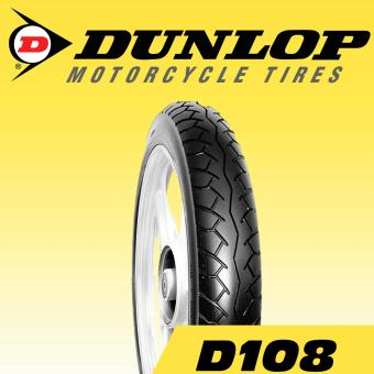 Dunlop Tire D108 2.75-17 41P Tubetype Motorcycle Tires