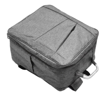 Durable Shoulder Carrying Case Portable Waterproof Storage Backpack Bag for DJI Phantom 4 without Sleeve (Grey)