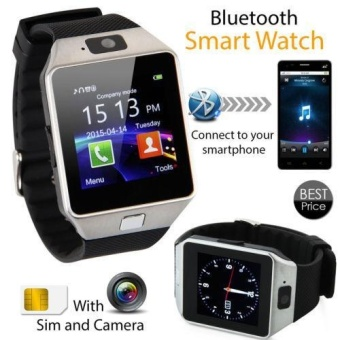 DZ09 Smart Watch Bluetooth Phone GSM SIM Card Camera For iPhone Samsung Android - intl
