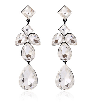 E403 European and American luxury high quality drop earrings