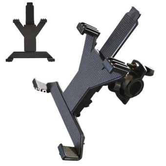 Eachgo Durable Plastic Tablet PC Support Bracket Adjustable Music Microphone Stand Holder Mount For 7-11 Inch Tablet Pad - intl