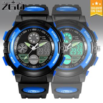 E&E Boy Wristwatch LED Digital Multifunction Waterproof Silicone Watch
