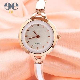 E&E Geneva Fashion Ladies Casual Bracelet Quartz Wrist WatchSY-7 (Golden)