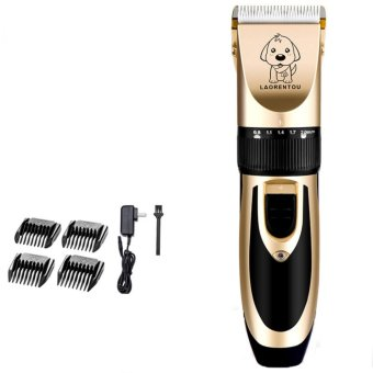 Electric Low-noise Animal Pet Dog Cat Hair Razor Grooming TrimmerShaver Clipper - intl