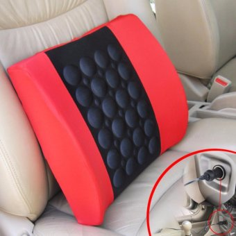 Electric Massage Pillow for Car-Red - intl