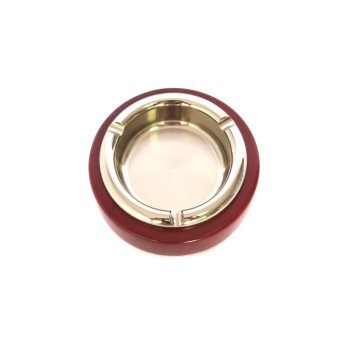 Elegant Wood Ashtray (Red) - picture 2