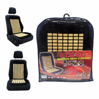 Elevo Bamboo Seat Cushion With Velour Black Price Philippines