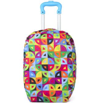 Elite Backpack Cover / Duffle Trolley Cover / Bag Cover / SchoolBag Trolley Cover - Colorful Circle Price Philippines