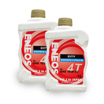 Eneos City SL SAE 10w-40 Synthetic 4 Cycle OiL 1L Bundle of 2 Price Philippines