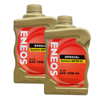 Eneos SL/CF SAE 10w-40 Special Synthetic Motor OiL Bundle of 2 Price Philippines