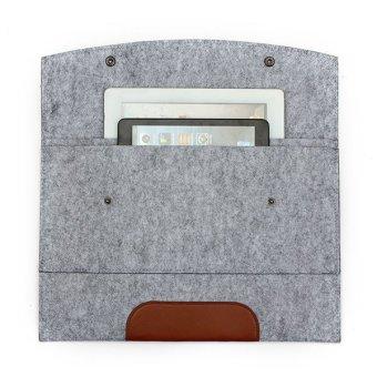 "Envelope Laptop Case Cover for Macbook Air Pro 11.6"" Light Grey"