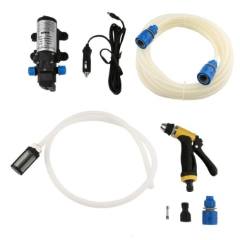 ERA Portable 12V 80W High Pressure Electric Water Pump WashingTools Kit - intl