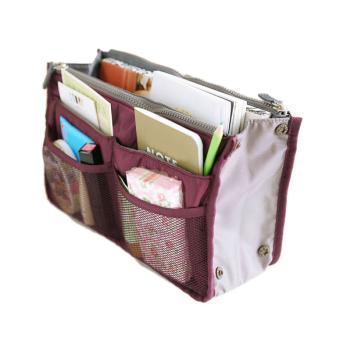 ETOP Women Travel Insert Handbag Organizer Purse Large linerOrganizer Tidy Bag Pouch (Red) (Intl) - 5