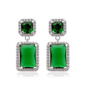 European and American elegant luxury AAA stud earrings