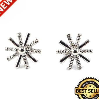 European Cubic Zirconia / Diamond 18kt Gold Plating Belize Earrings1 Price Philippines