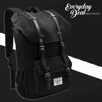 Everyday Deal Travel Laptop Backpack (Black)