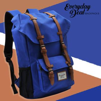 Everyday Deal Travel Laptop Backpack (Blue)