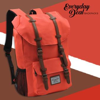 Everyday Deal Travel Laptop Backpack (Neon Orange) Price Philippines