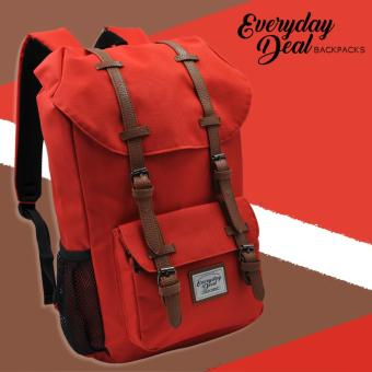 Everyday Deal Travel Laptop Backpack (Red) Price Philippines