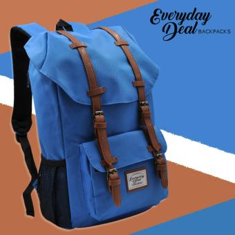Everyday Deal Travel Laptop Backpack (Sky Blue)