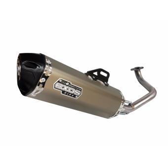 EXOS R6 Super 8 Full Exhaust System - Titanium Anodized
