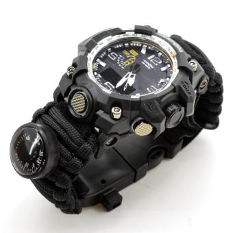 Exponi Paracord 6 in 1 Survival Watch