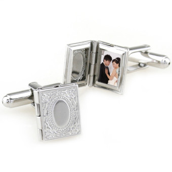 Exquisite album style can be Opening&Closing cufflinks