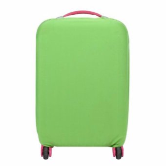 Extra Thick Suitcase Protective Anti-Scratch Luggage Cover green (M22in to 24in)