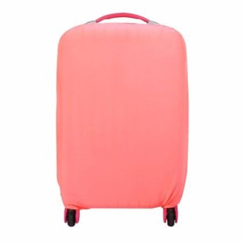 Extra Thick Suitcase Protective Anti-Scratch Luggage Cover pink (M22in to 24in)